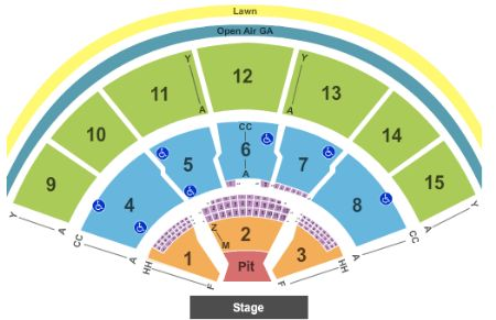 Mansfield\u0027s Xfinity Center Seat Map and Venue Information