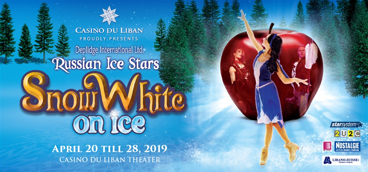 Snow White on ice at Casino du Liban Ticketing Box Office