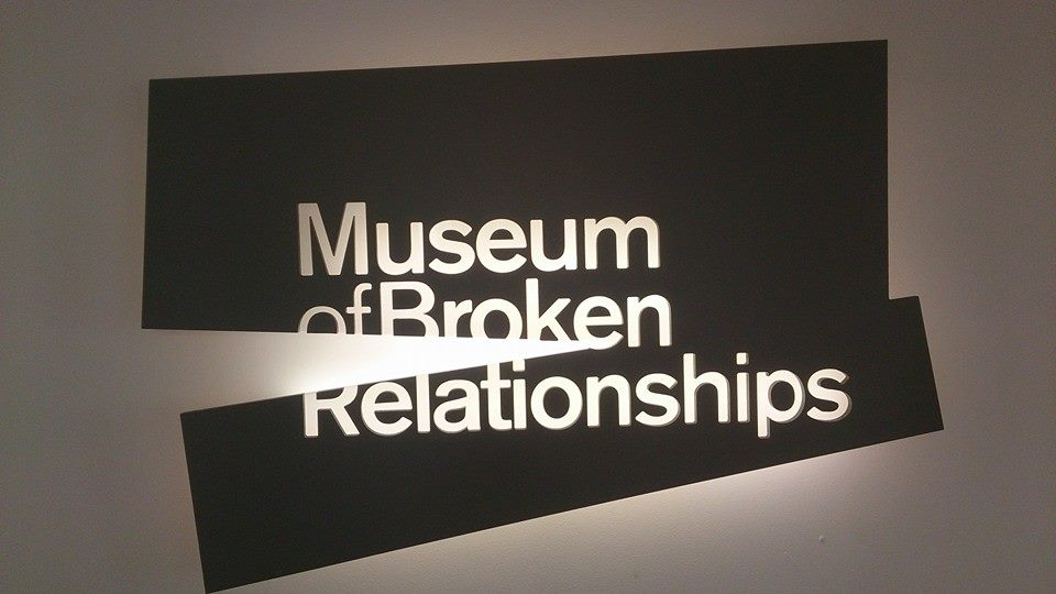 Our thoughts on the quirky Museum of Broken Relationship....expressed in the Zagreb Mini Guide post