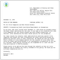 Sample Mortgage Loan Denial Letter - free sample mortgage ...