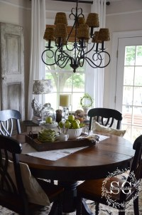 Dining Table Decor {for an Everyday Look} - TIDBITS&TWINE