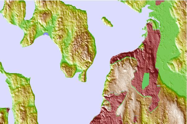 Glendale, Whidbey Island, Washington Tide Station Location Guide