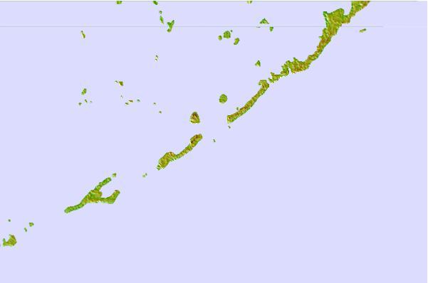 Indian Key, Hawk Channel, Florida Tide Station Location Guide