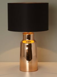 Lester copper table lamp - #tidylife