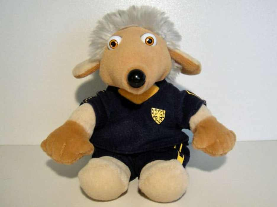 Wandle the Womble beanie toy