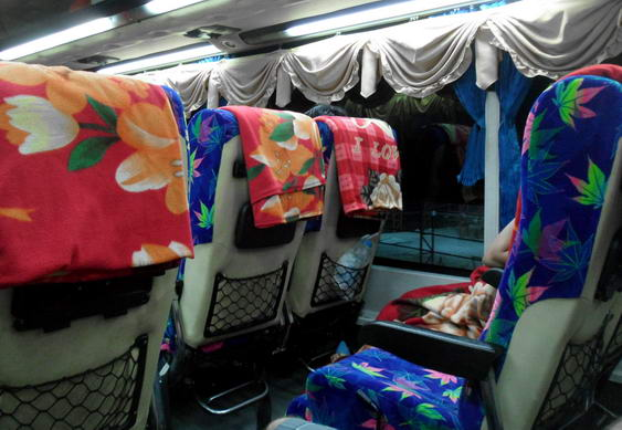 Vientiane Visa Run Bus