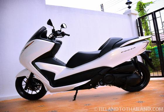 2013 Honda Forza Chiang Mai to Pai Thailand