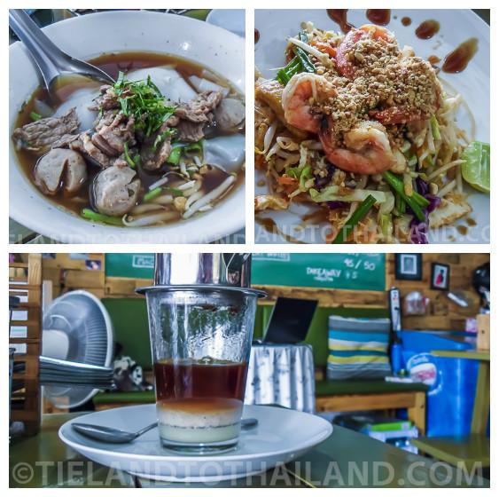 Seafood in Hua Hin and Coffee at Yummy Corner Cafe