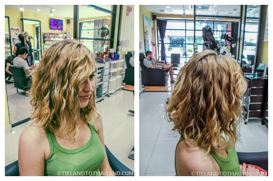 Chiang Mai Hair Salon After Haircut Side