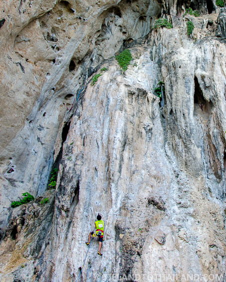Rock Climbing Things to do in Krabi Thailand