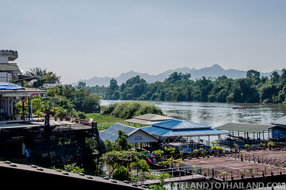 Overlook at the Bridge on the River Kwai
