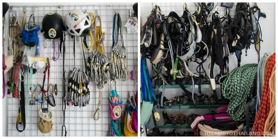 Rock Climbing Equipment Available for Krabi Rock and Fire International Contest