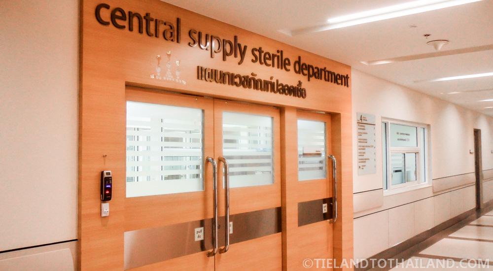 Bumrungrad International Hospital Central Supply