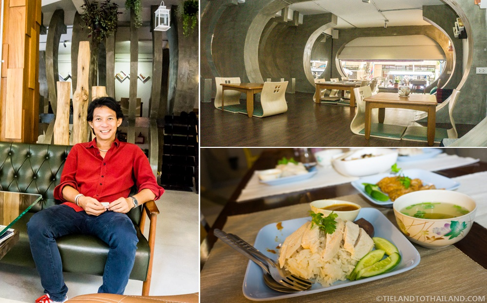 Lunch with co-owner at The House of Phraya Jasaen