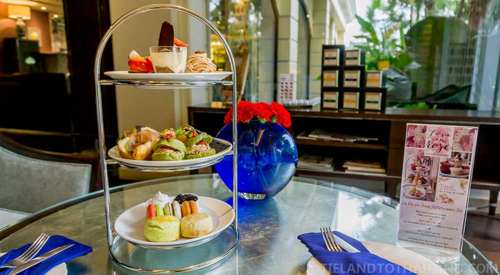 The Sukosol serves up an amazing After Tea set for 750 baht