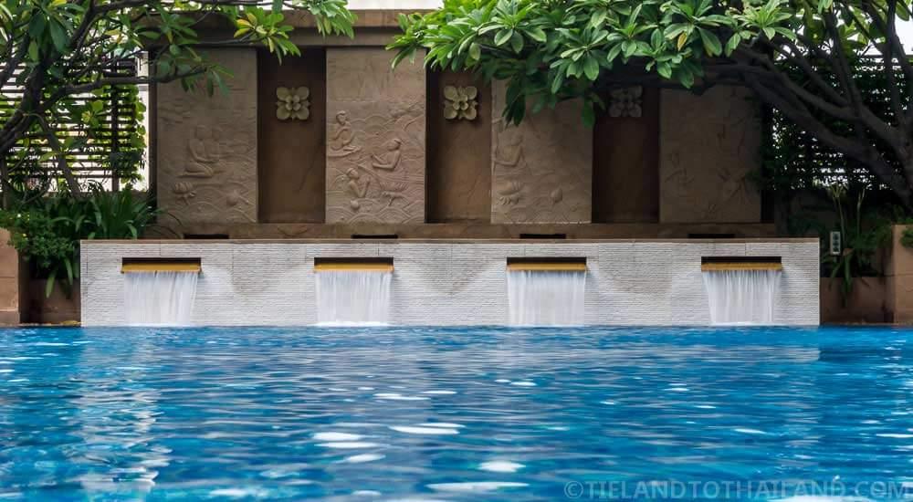 The Sukosol's outdoor pool