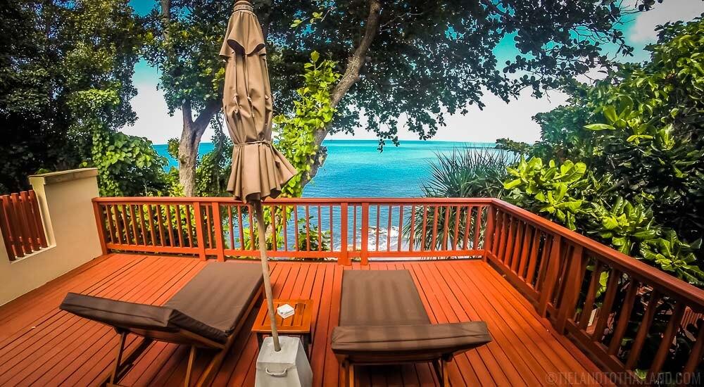 Crown Lanta Ocean Sunset Villa View