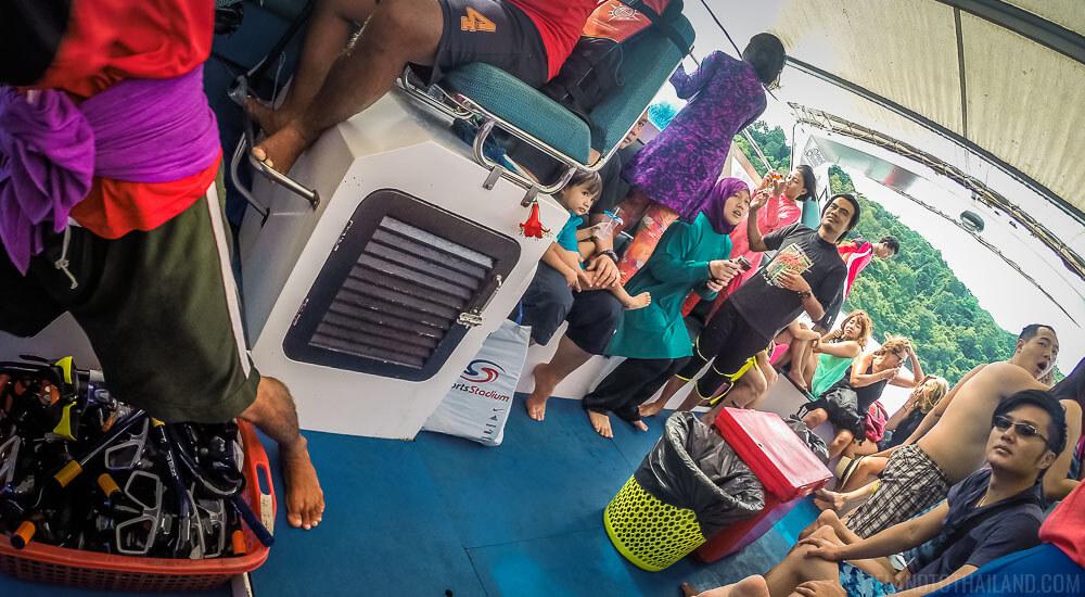 Opal Speedboat snorkeling company in Koh Lanta