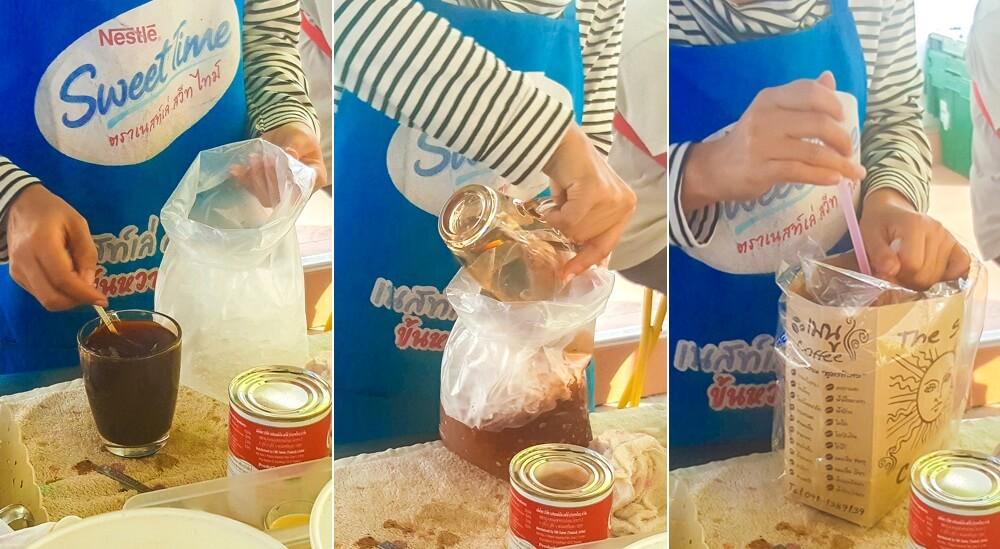 'Soda-in-a-bag' Thai style