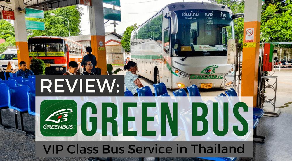 Review: Thailand's Green Bus VIP Class Bus
