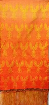 phoenixes, with color gradient weft