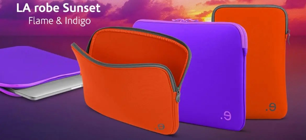 Funda para Macbook LArobe Sunset de be-ez