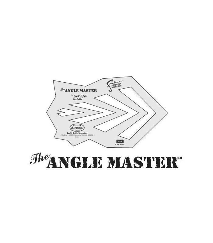Template ANGLES / ANGLE MASTER Artool - angle template