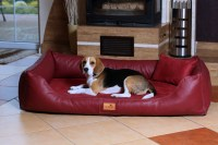 tierlando MADDOX VIP Orthopedic Dog Bed VISCO Velour Faux ...