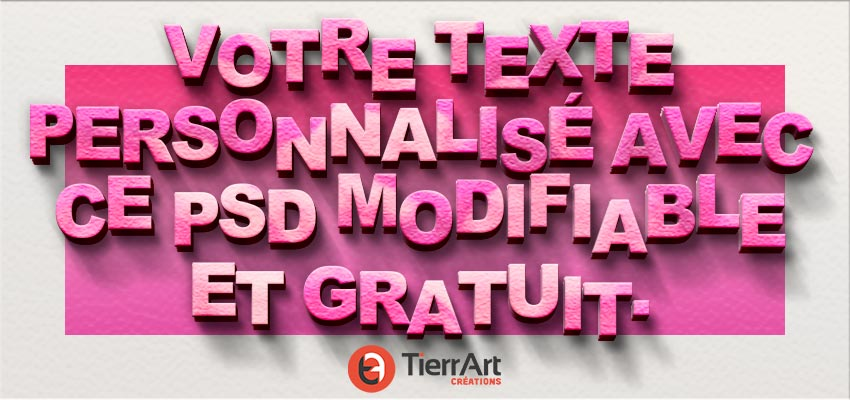Free text effect Valentine's Day