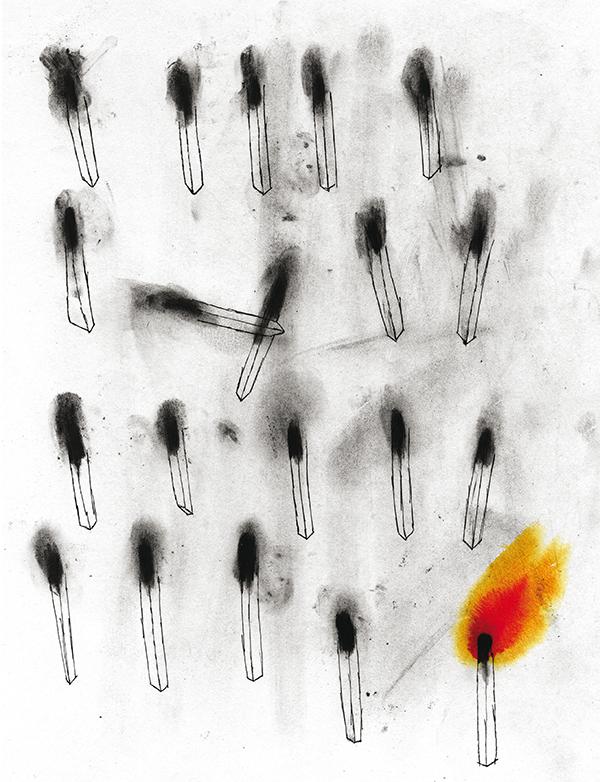 Ilustración de Amanda Mijangos (Ciudad de México, 1986)