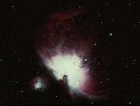 Nebulosa NGC1976, más conocida como nebulosa de Orión.