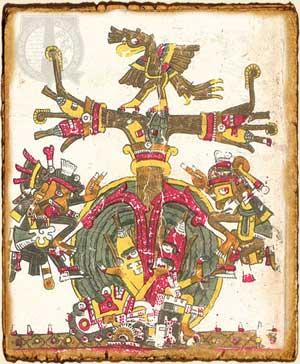 Árbol de la vida en la mitología azteca
