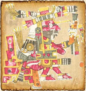 Mitologia Azteca Xiuhtecuhtli