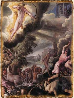 Mitología Griega - Poseidón y Apolo en Troya