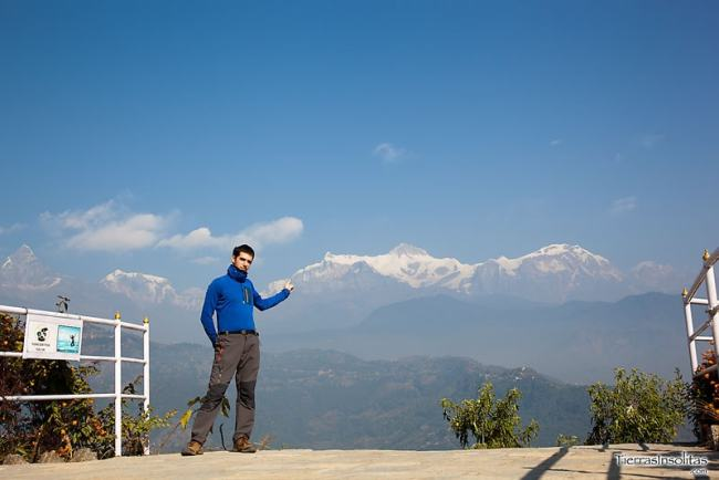 vistas desde la pagoda de la paz mundial