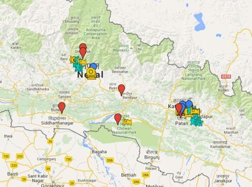 ruta nepal 2016