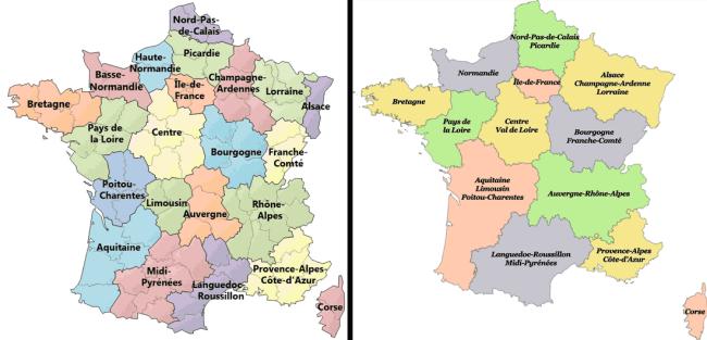 departamentos francia 2016