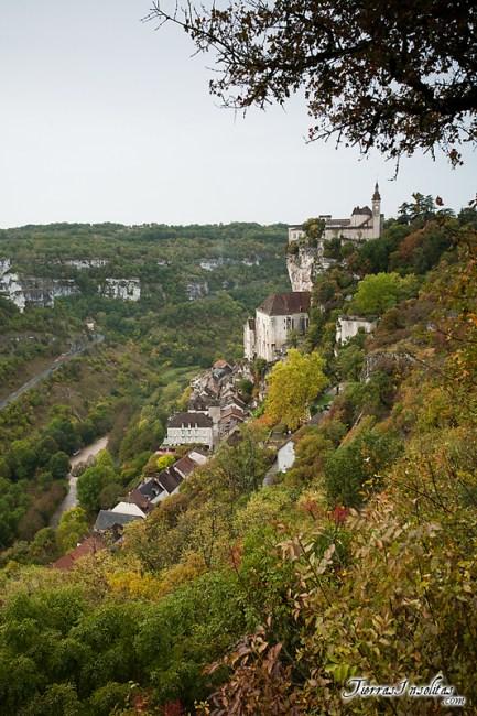 Panorámica de Rocamadour