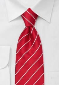 Bright Red Ties Bright red men's necktie