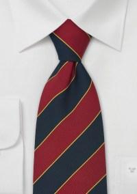 Extra Long British Neck Ties Regimental Tie Oxford by Parsley