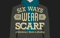 6 Ways To Tie A Scarf For Men | Tying Scarves & Men's ...