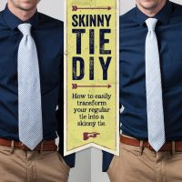 Skinny Tie DIY: How to Turn Your Standard Tie into a ...