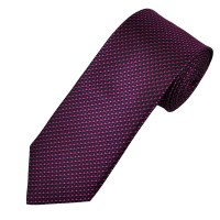 Ascot Black, Fuchsia Pink & Purple Patterned Silk Men's ...