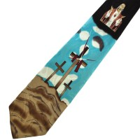 Jesus and Christian Cross Tie from Ties Planet UK