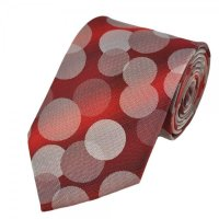 Pink Circles Design Boys Tie from Ties Planet UK