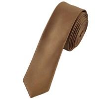 Plain Beige Super Skinny Tie from Ties Planet UK