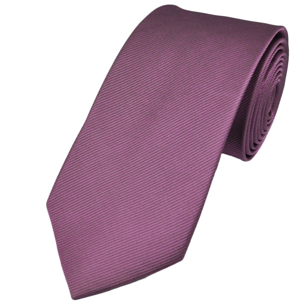 Plain Lilac Silk Tie from Ties Planet UK