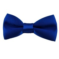 Plain Royal Blue Boys Bow Tie from Ties Planet UK