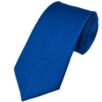 Plain Royal Blue Silk Tie from Ties Planet UK