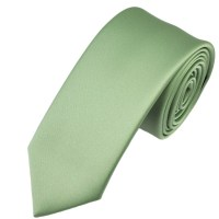 Plain Sage Green 6cm Skinny Tie from Ties Planet UK